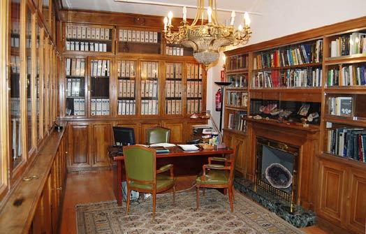 Biblioteca del IGE