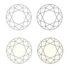 Escala de color diamantes