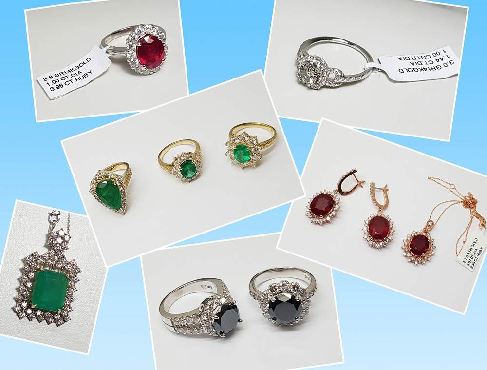 Joyas con diamantes sintéticos vendidos como naturales