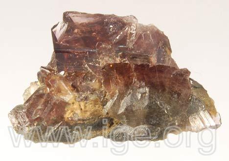 Minerales cristalizados en triclínico