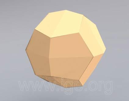 Cristalografía - formas simples: cúbico